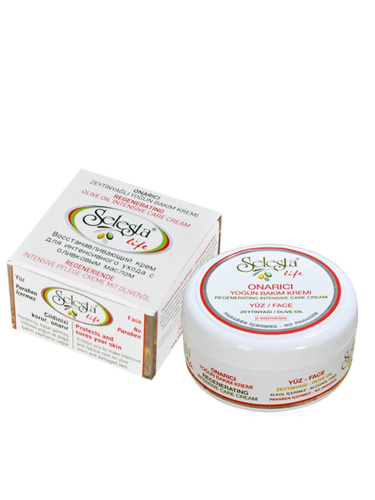 Крем відновлювальний для інтенсивного догляду за обличчям з оливковою олією (100 мл) | 4058938