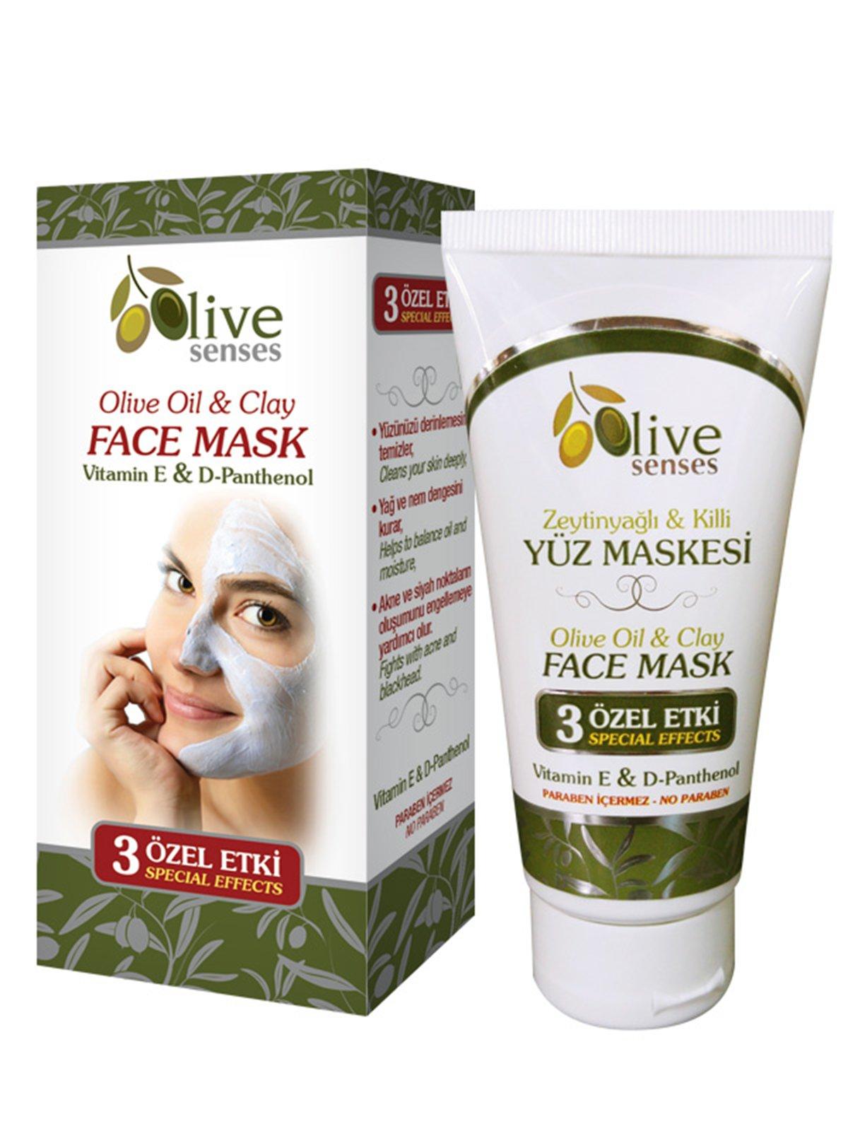 Маска з глини для обличчя з оливковою олією (100 мл) | 4058950