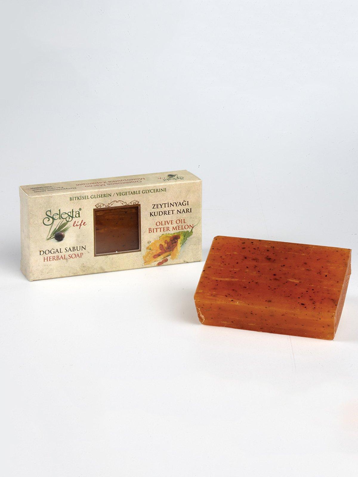 Мило гліцеринове з натуральними оліями «Китайський огірок» (100 г) | 4058955