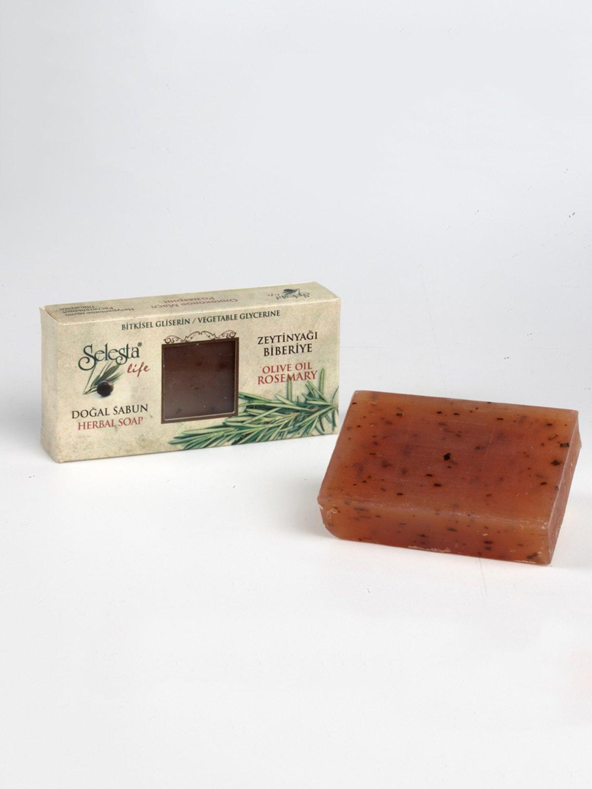 Мыло глицериновое с натуральными маслами «Розмарин» (100 г) | 4058961