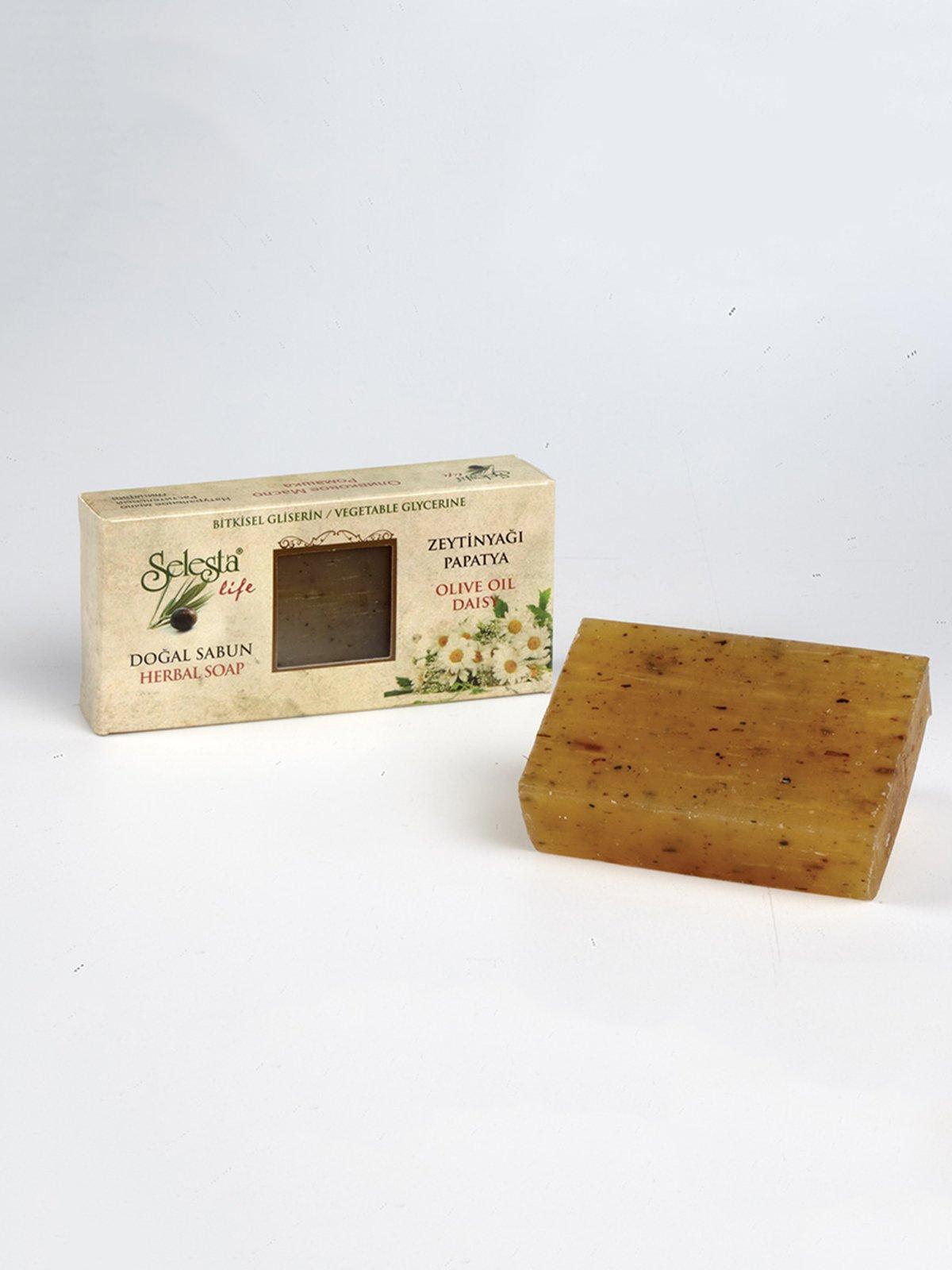 Мило гліцеринове з натуральними оліями «Ромашка» (100 г) | 4058962