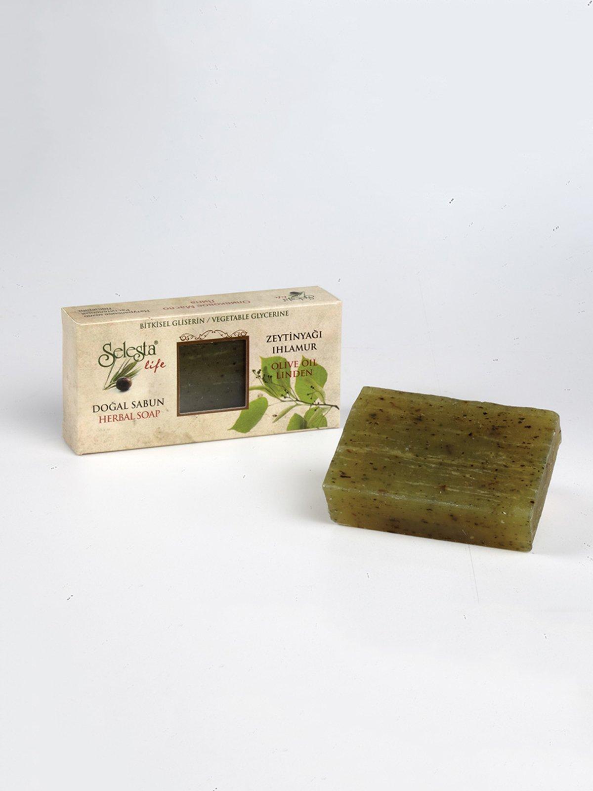 Мыло глицериновое с натуральными маслами «Липа» (100 г) | 4058967