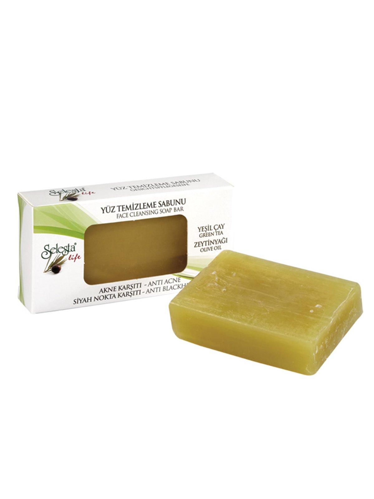 Мило очисне гліцеринове з натуральними оліями «Проти акне та чорних цяток» (100 г)   4058972