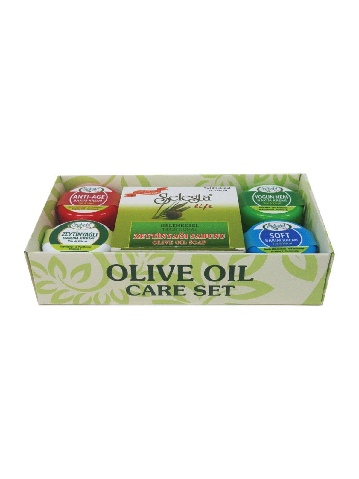 Набір для догляду за тілом з оливковою олією | 4058995