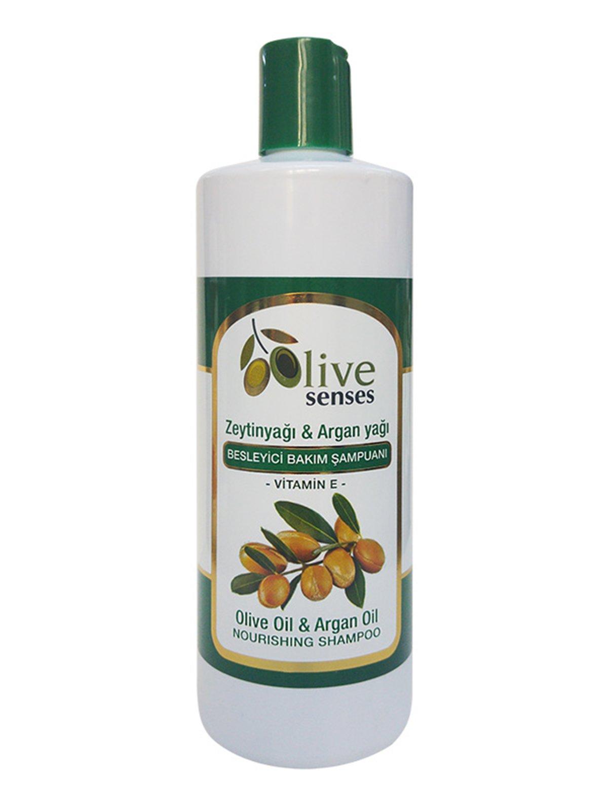 Шампунь живильний з оливковою і аргановою оліями (500 мл)   4058996