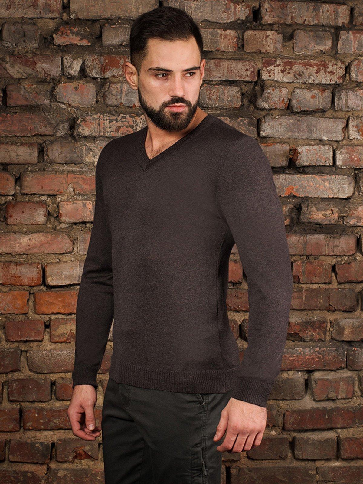 Пуловер коричневый | 4058322