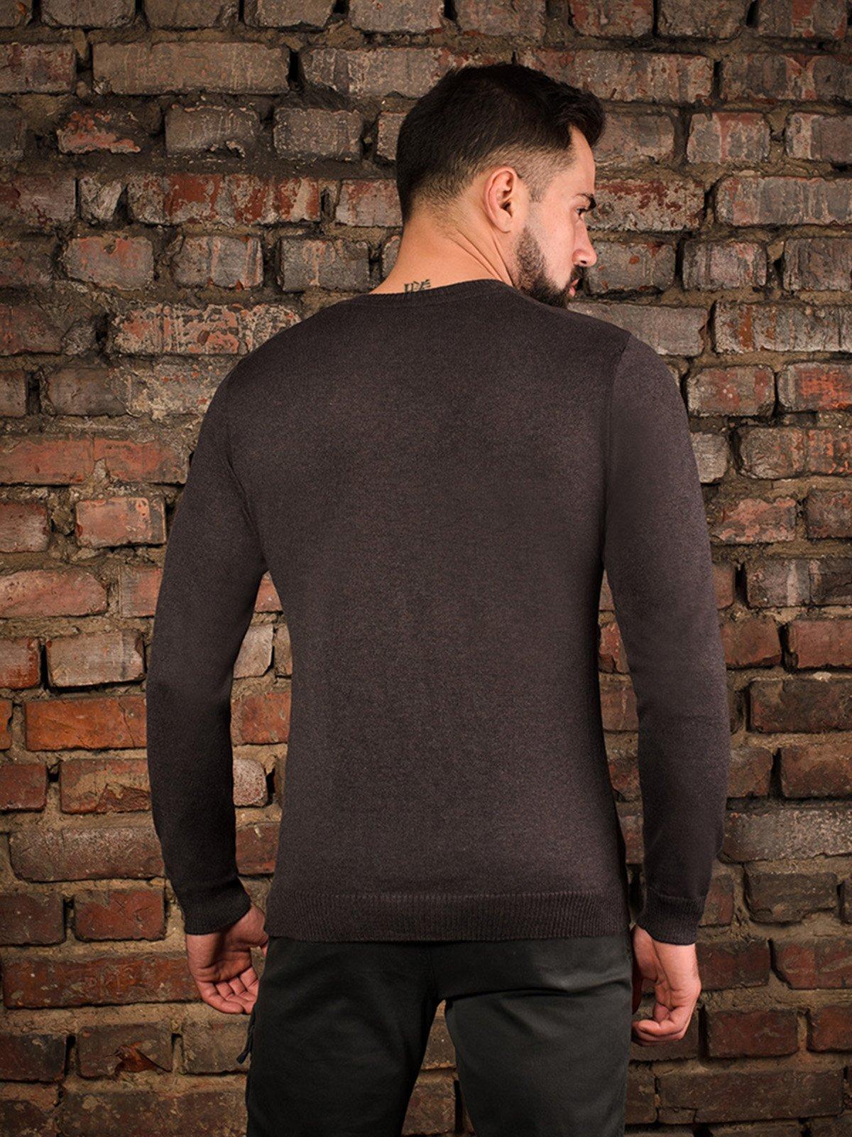 Пуловер коричневий | 4058322 | фото 2