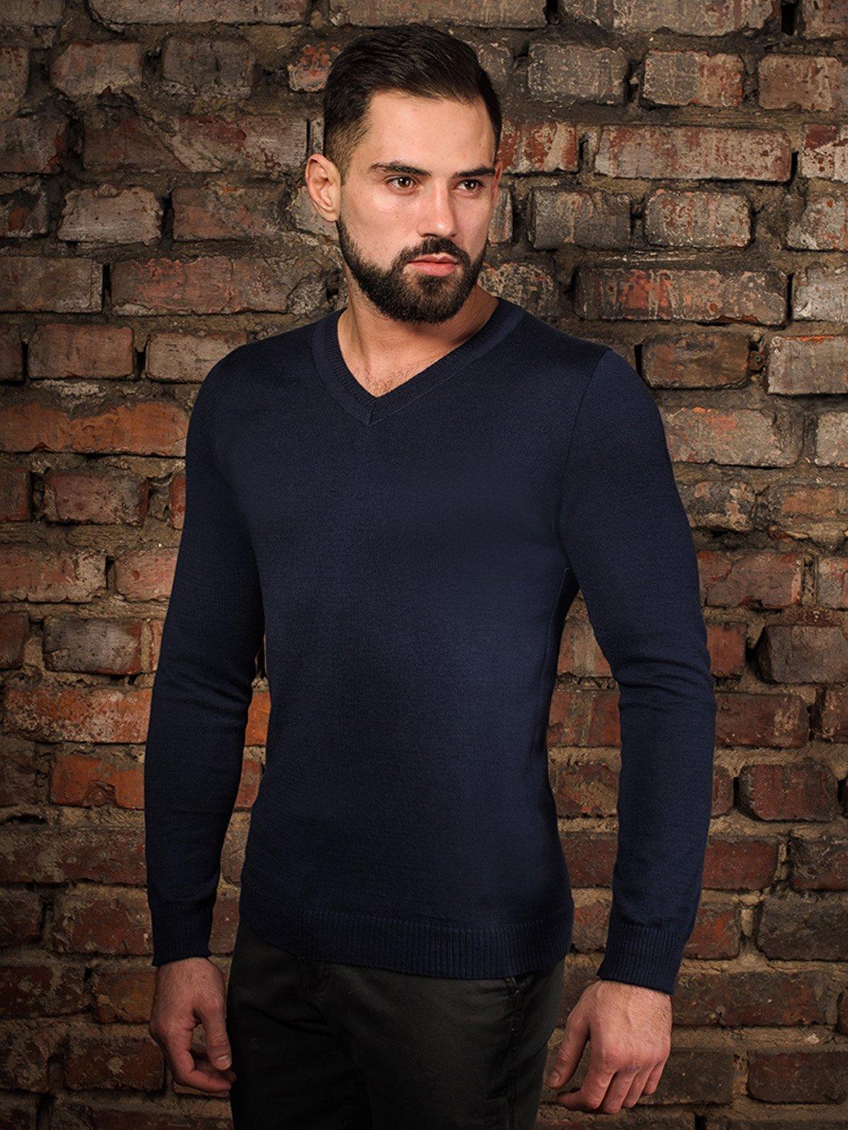 Пуловер темно-сірий   4058326