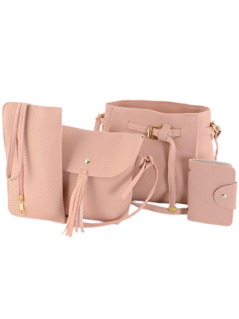 Набір: 2 сумки, косметичка і візитниця | 4059793