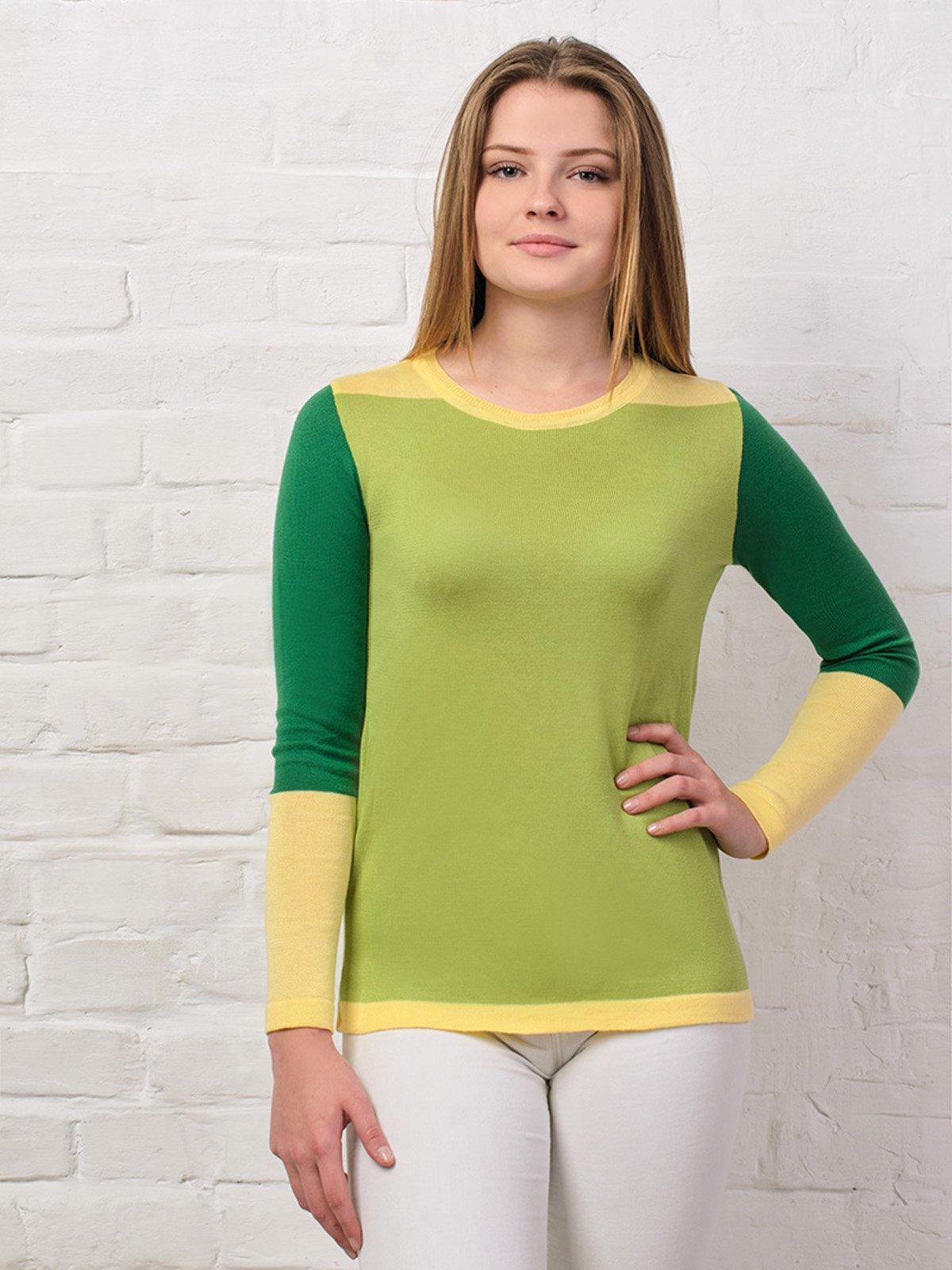 Джемпер салатово-зелений | 4050512