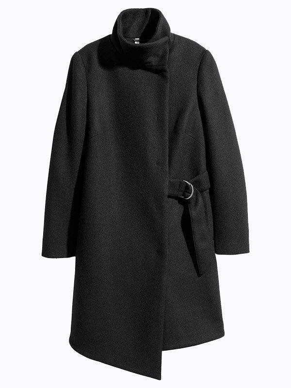 Пальто черное | 4063860 | фото 2