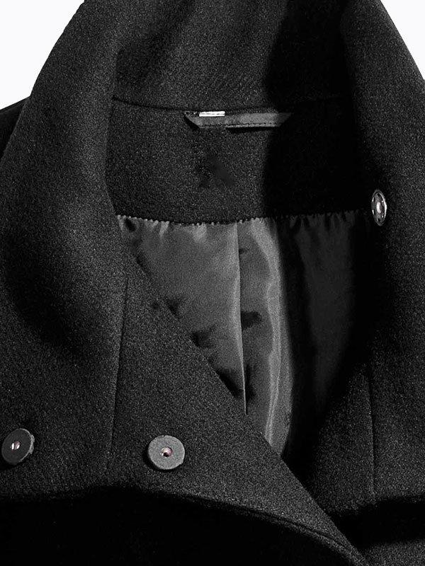 Пальто черное | 4063860 | фото 3