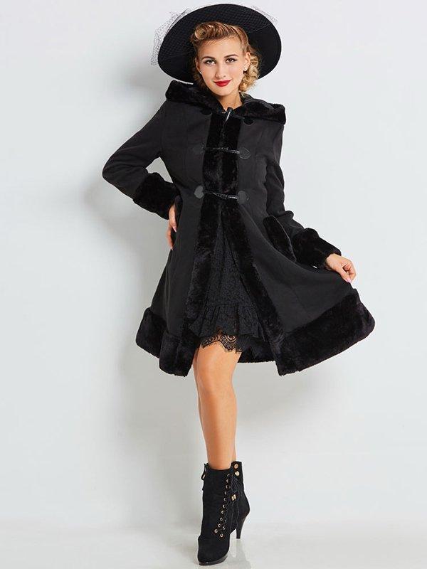 Пальто черное | 4063965 | фото 2