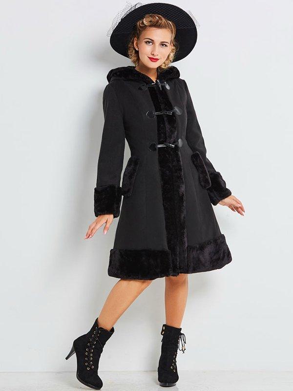 Пальто черное | 4063965 | фото 3