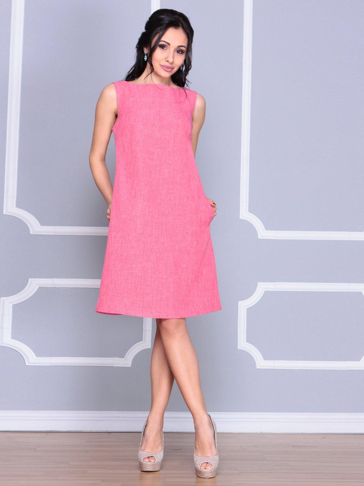Платье-сарафан розовое | 4064991 | фото 4