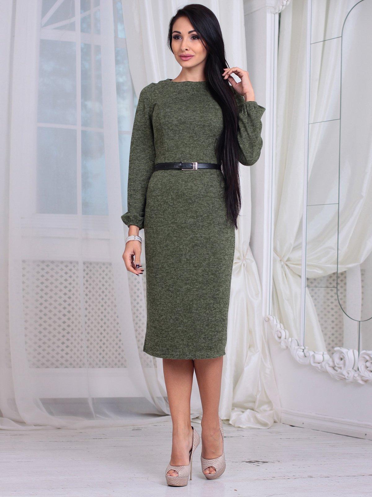 Сукня кольору хакі | 4064993