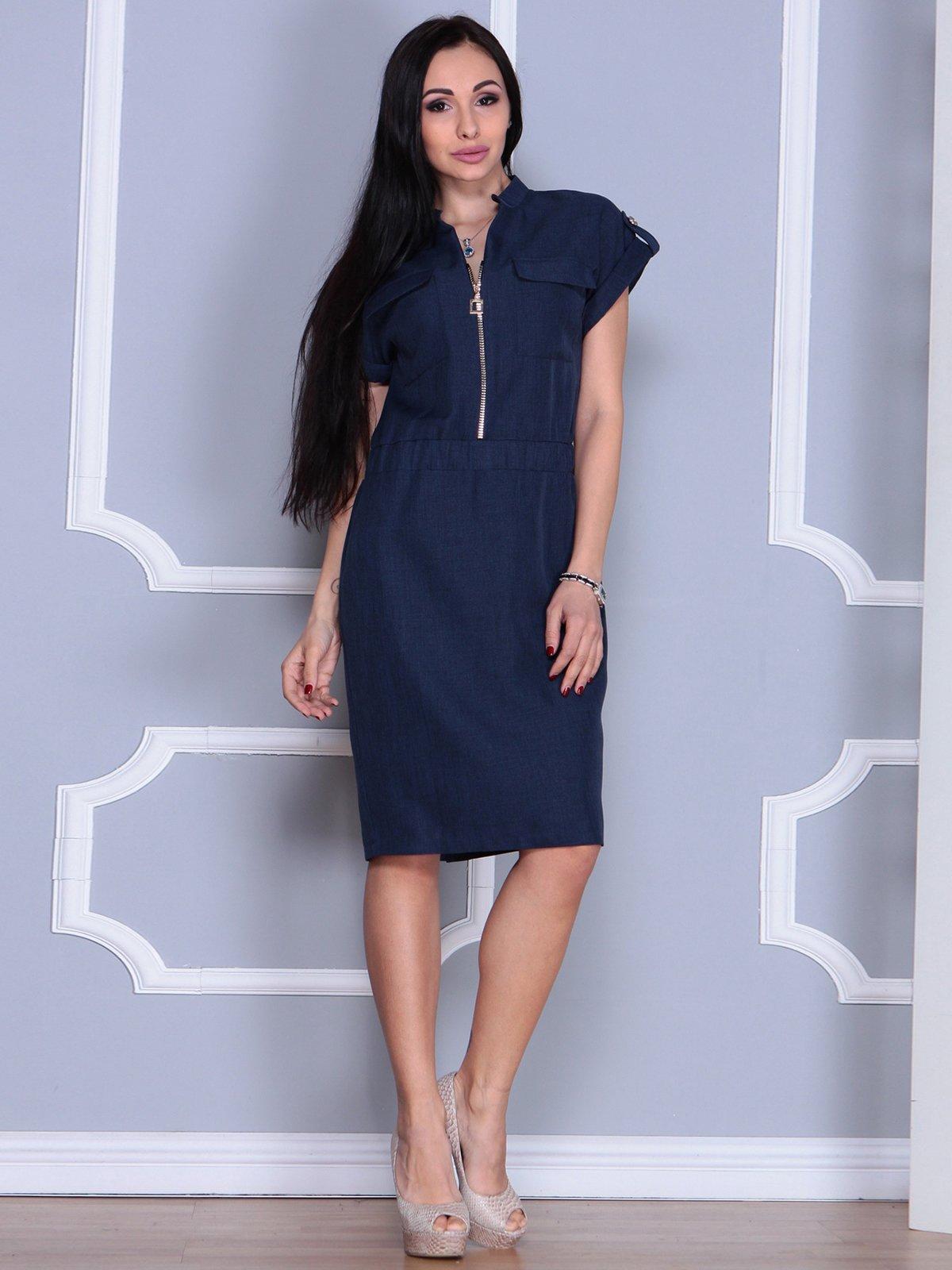 Сукня темно-синя | 4065006