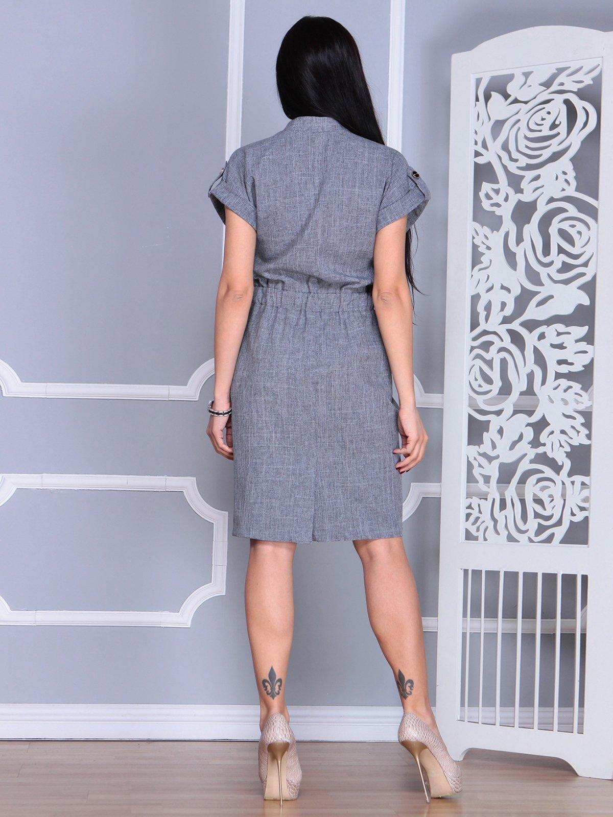 Платье дымчатого цвета   4065007   фото 2
