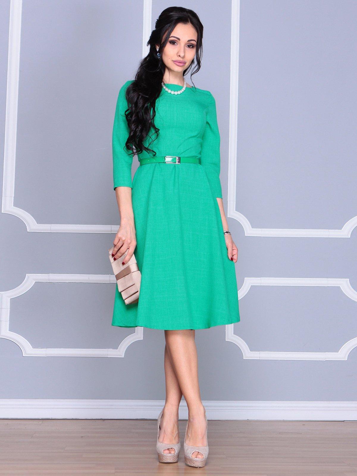 Платье зеленое | 4065021