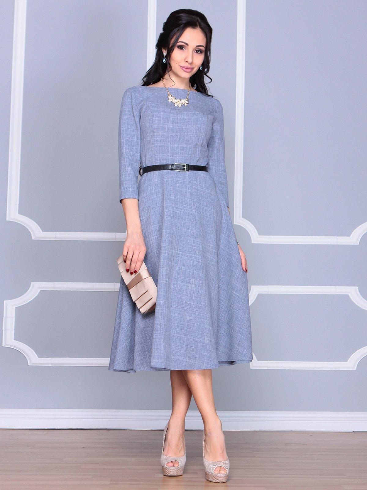 Платье цвета фиолетовой дымки | 4065034
