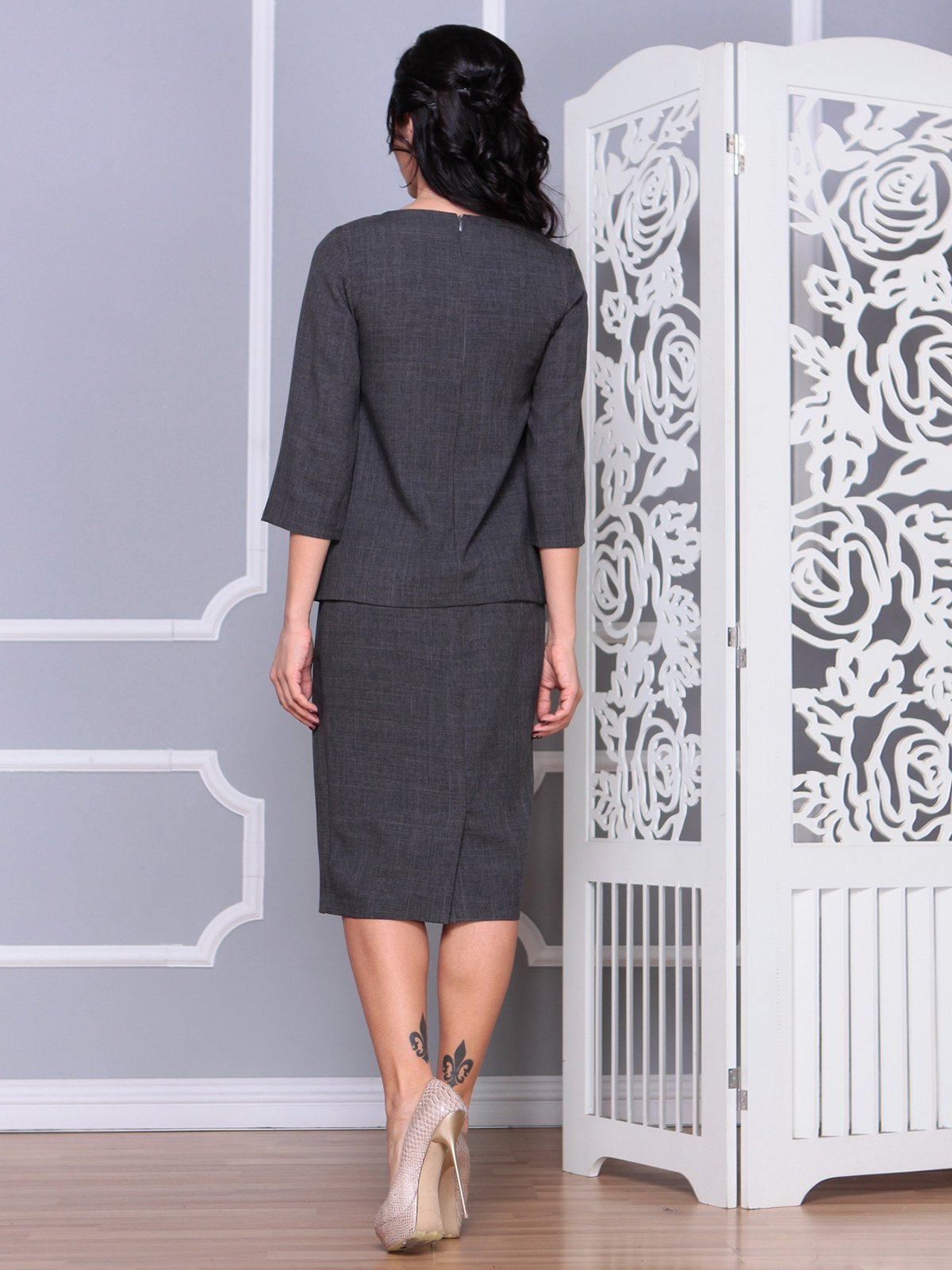 Костюм: блуза и юбка | 4065036 | фото 2