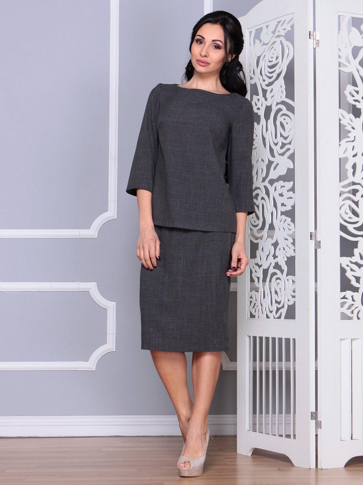 Костюм: блуза и юбка | 4065036 | фото 3