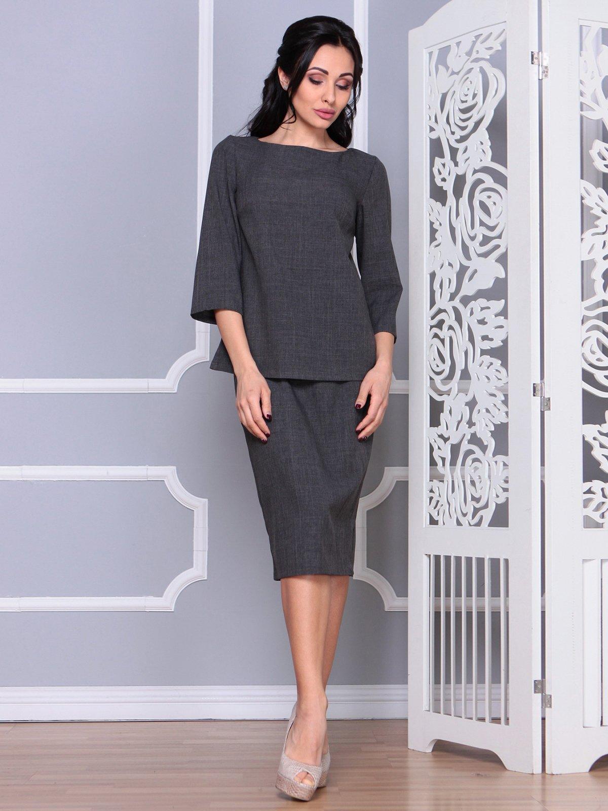 Костюм: блуза и юбка | 4065036 | фото 4
