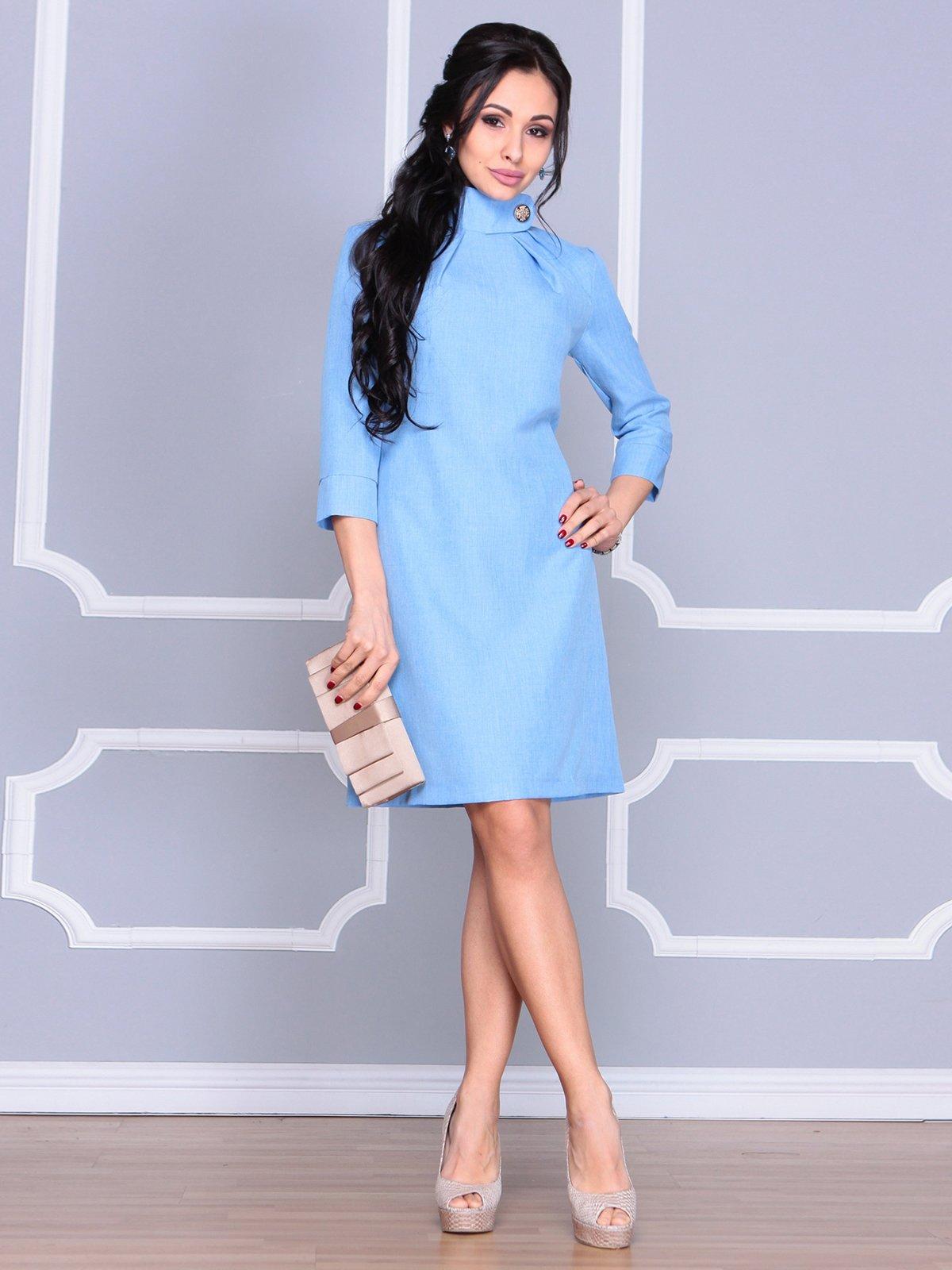 Платье голубое | 4065037