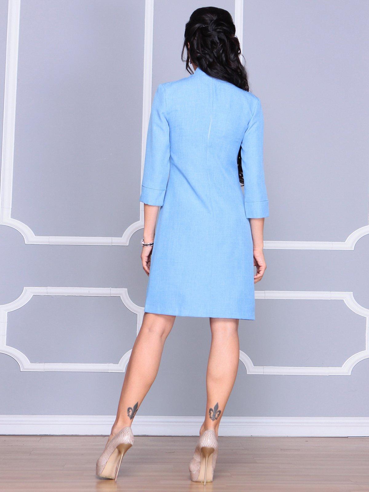 Платье голубое | 4065037 | фото 2