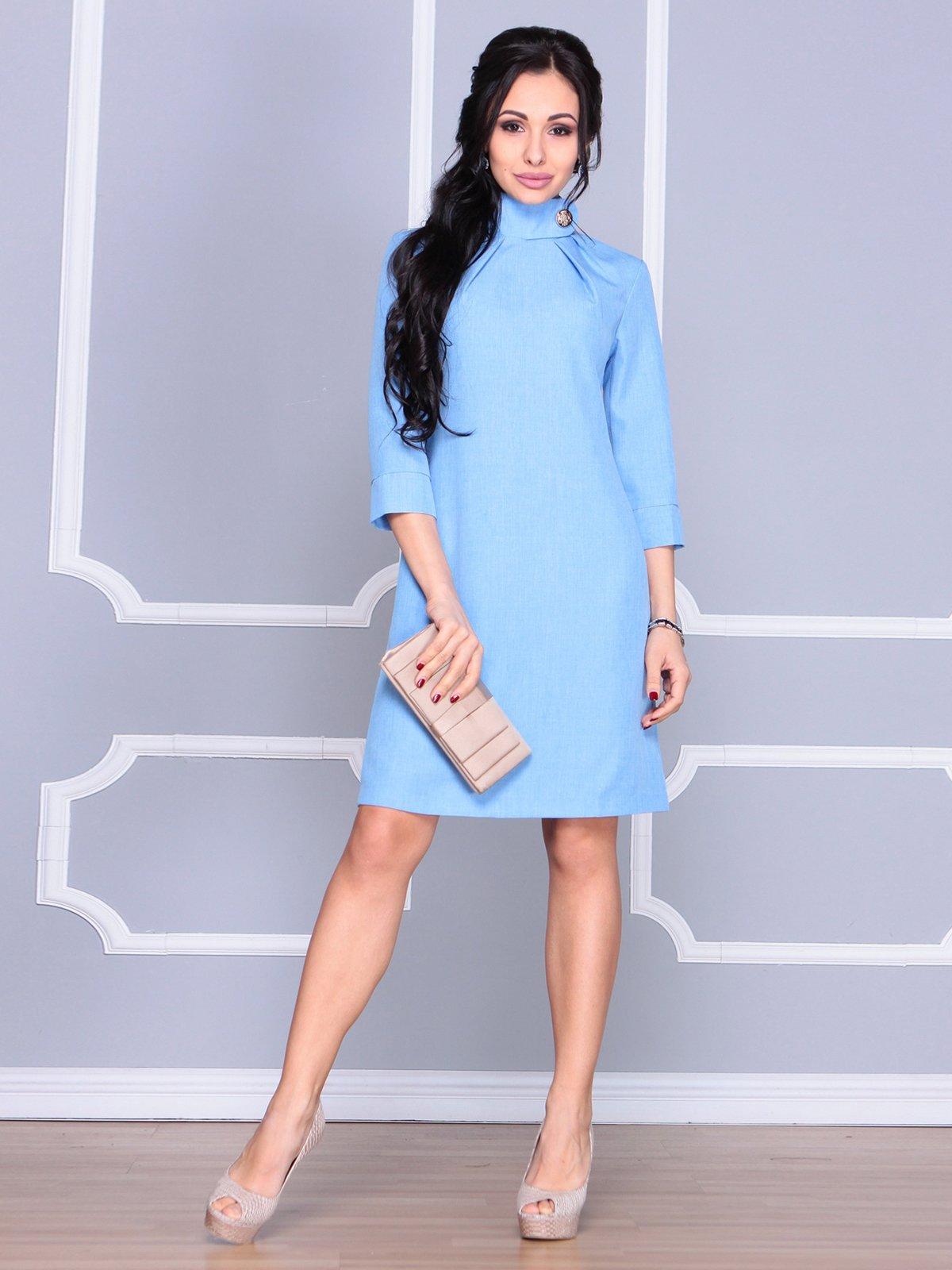 Платье голубое | 4065037 | фото 3
