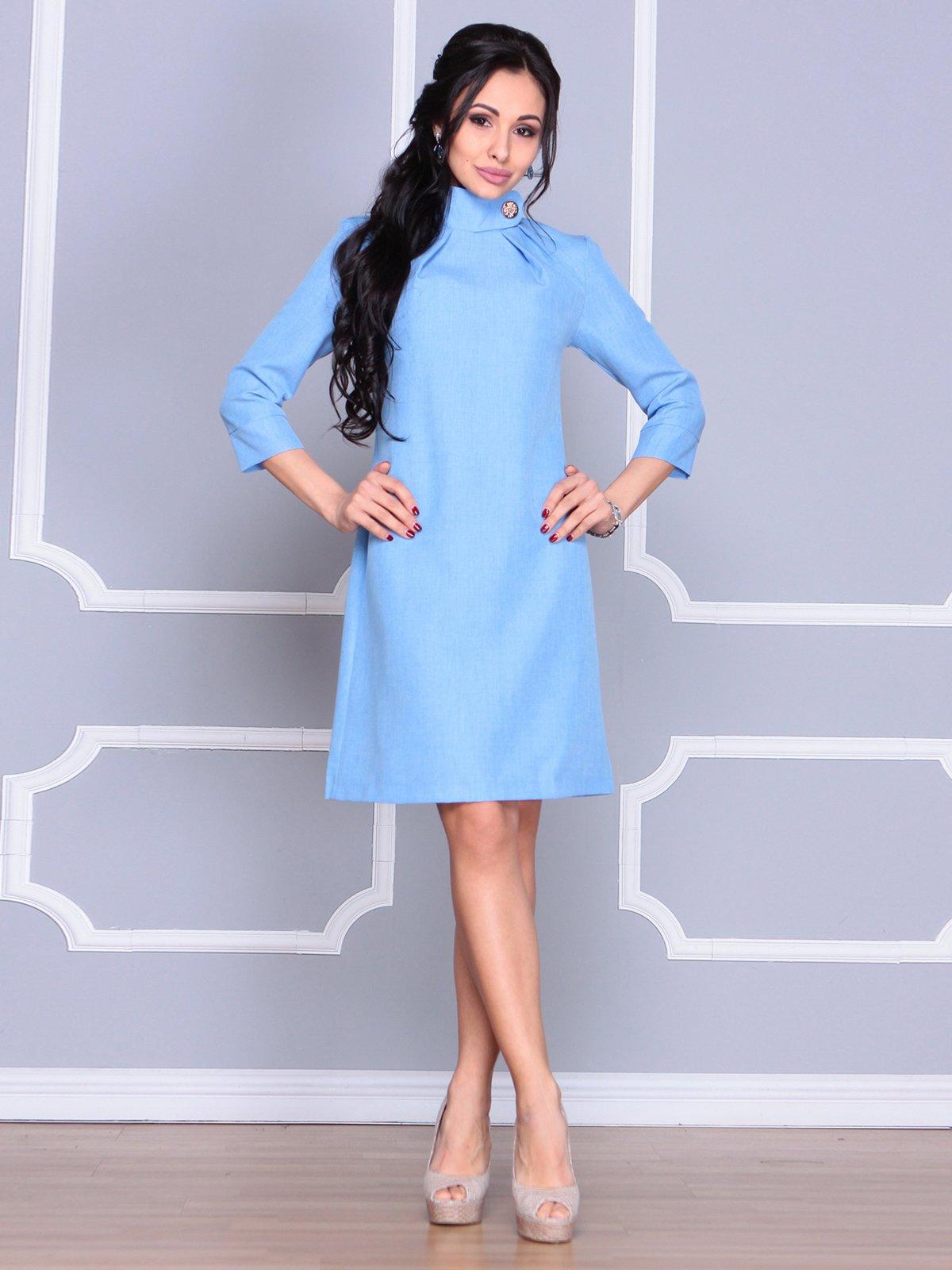 Платье голубое | 4065037 | фото 4