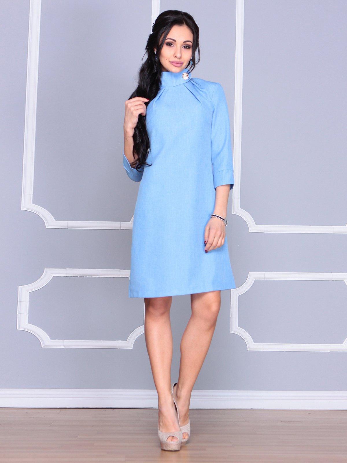 Платье голубое | 4065037 | фото 5