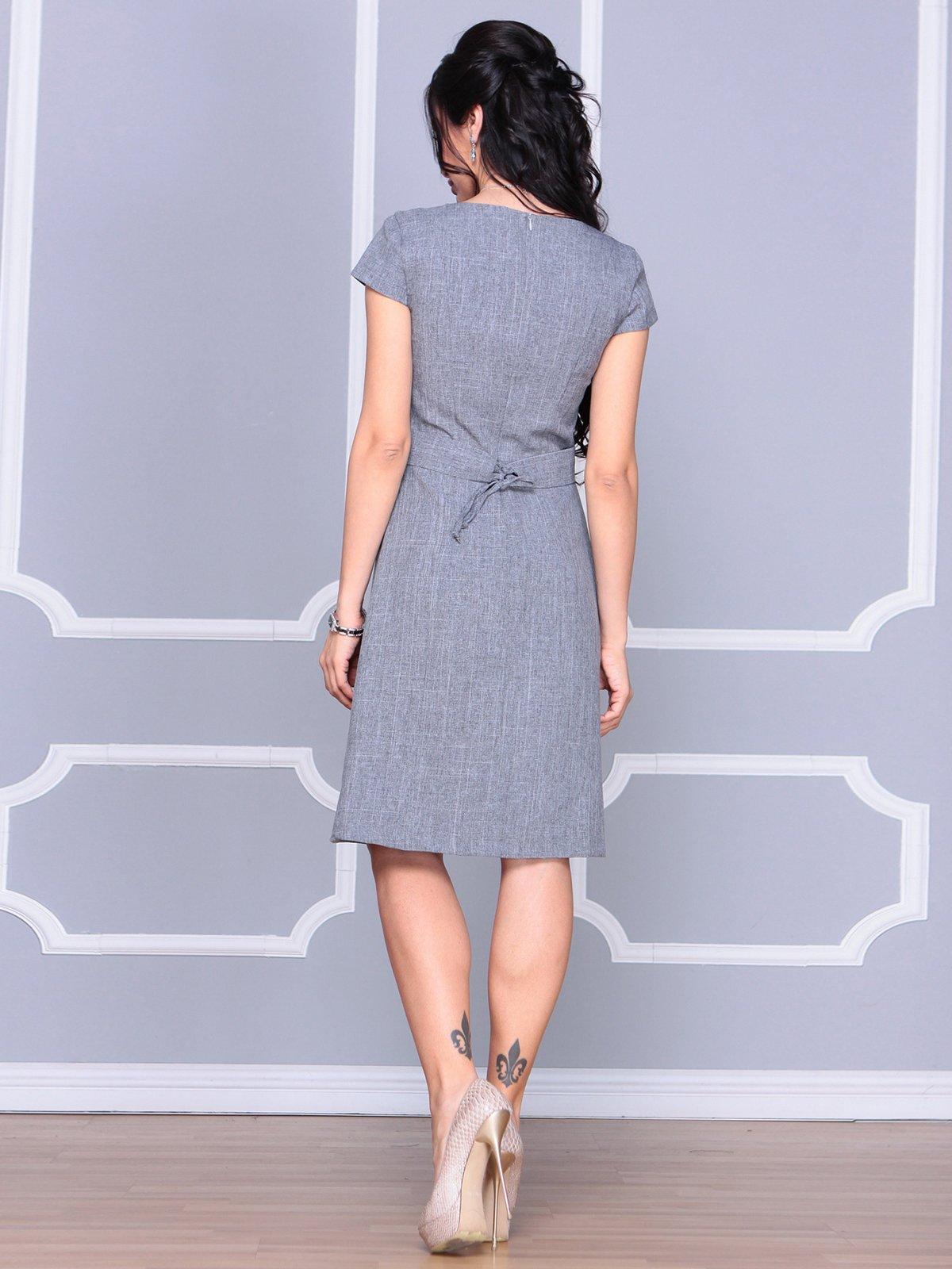 Платье дымчатого цвета | 4065039 | фото 2