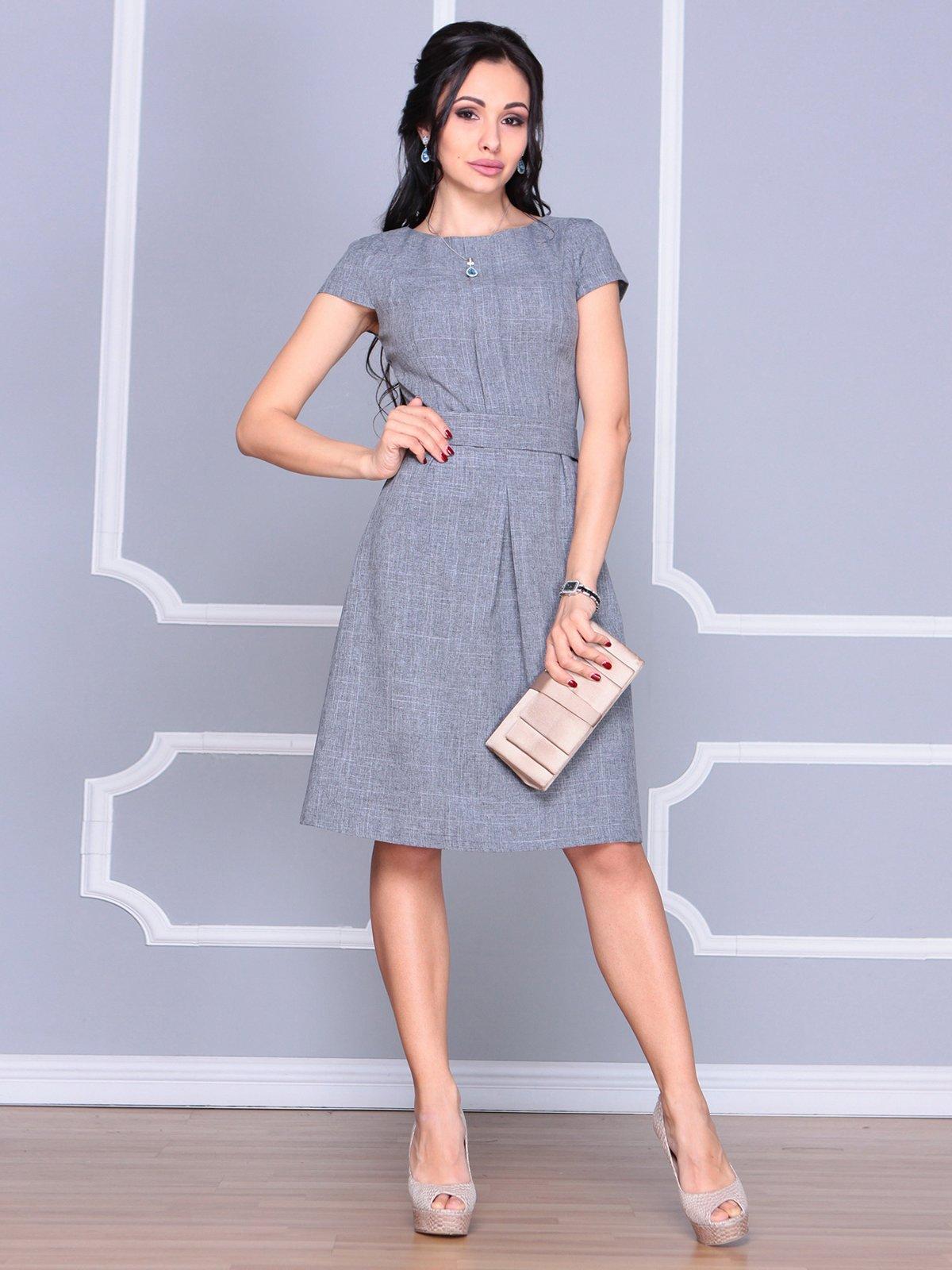 Платье дымчатого цвета | 4065039 | фото 3