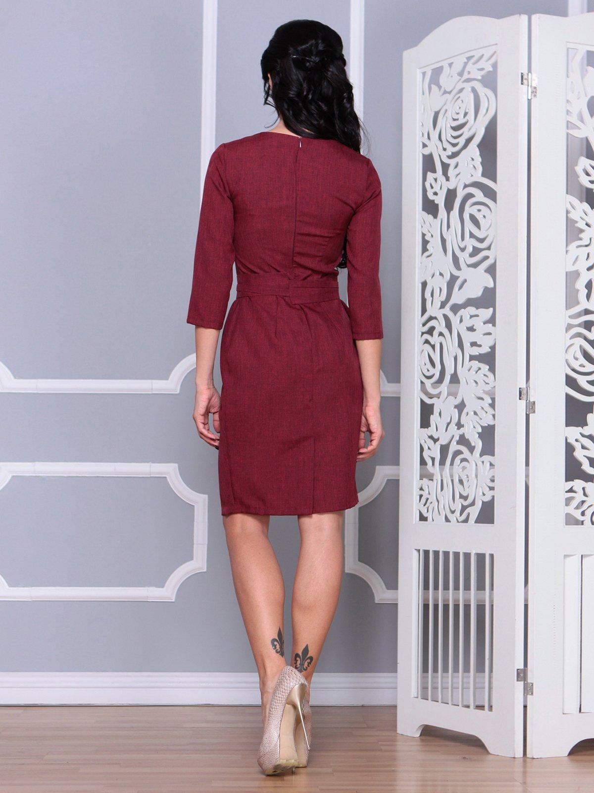 Платье светло-сливовое | 4065041 | фото 2