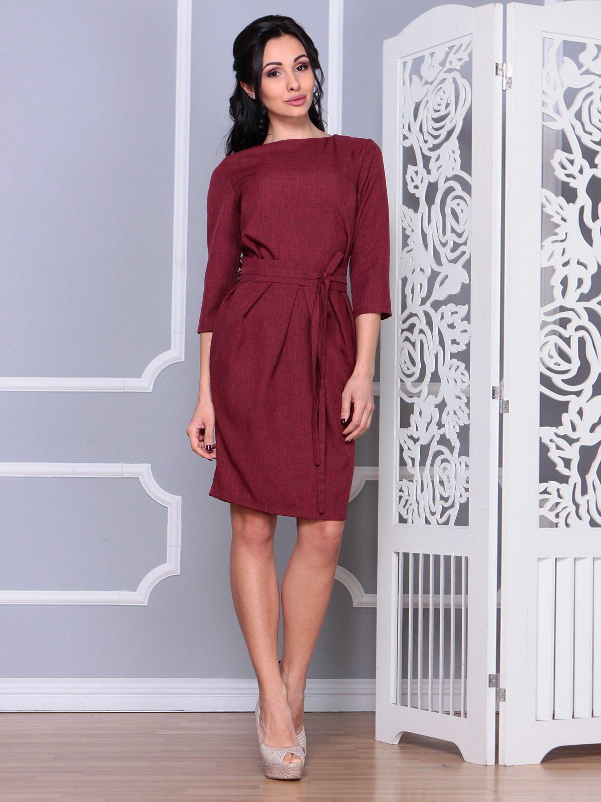 Платье светло-сливовое | 4065041 | фото 3