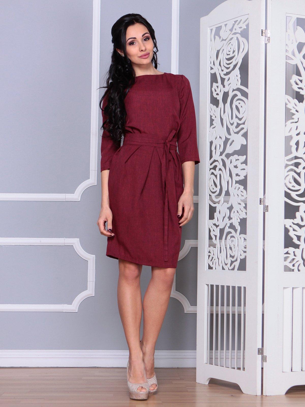 Платье светло-сливовое | 4065041 | фото 5