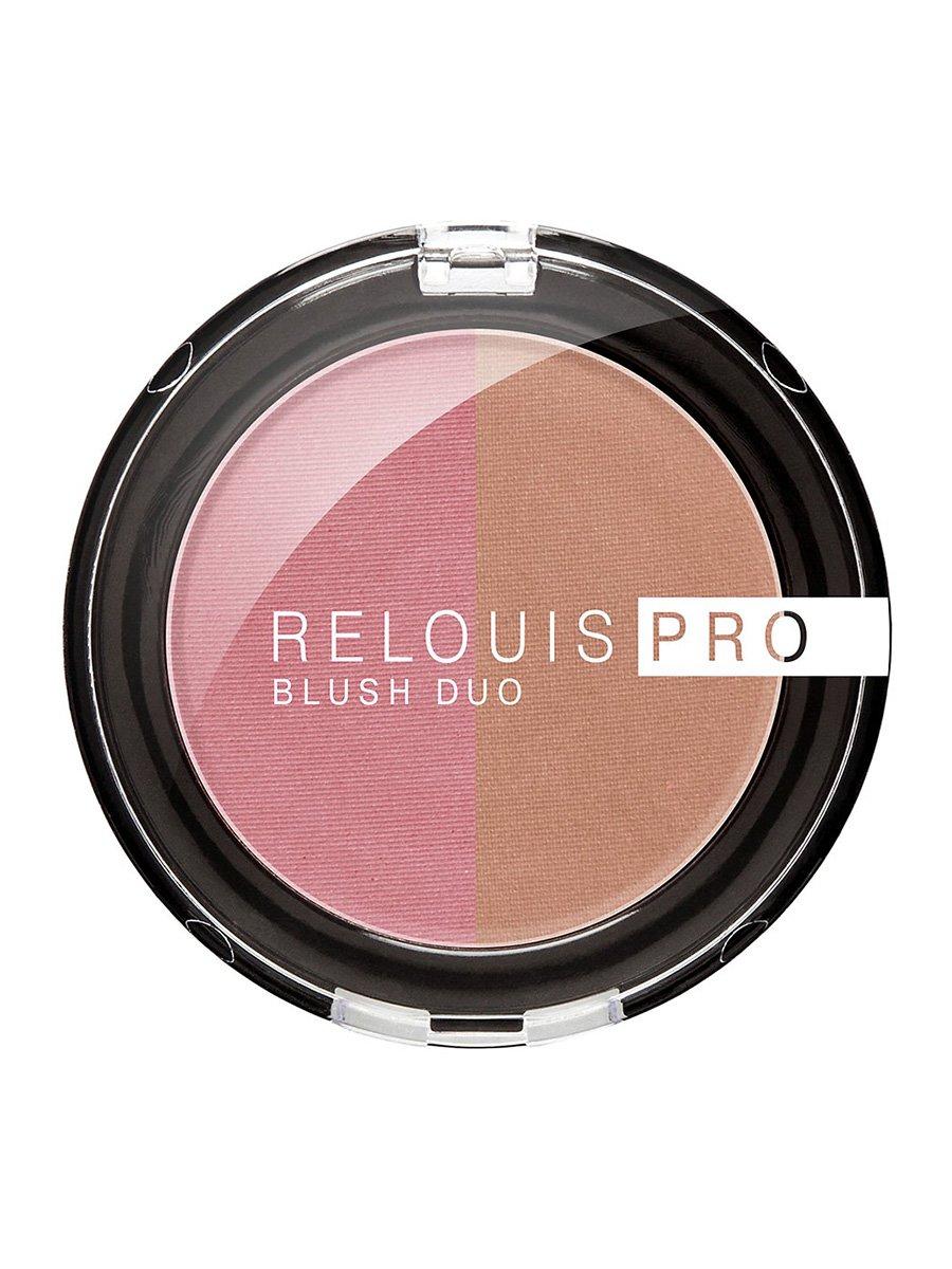 Рум'яна компактні Relouis Pro Blush — тон №206 | 4067167