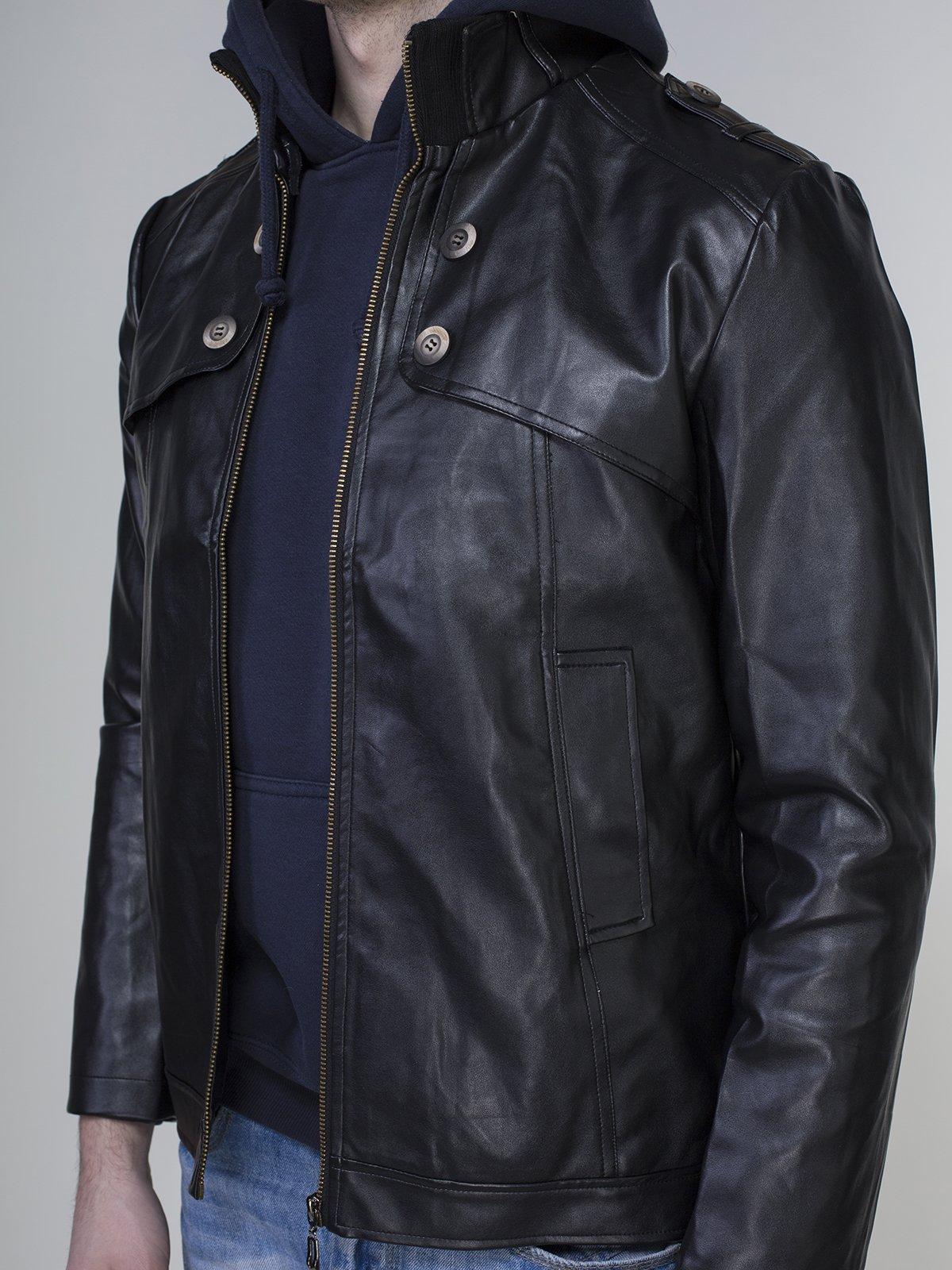 Куртка чорна | 4031120 | фото 3