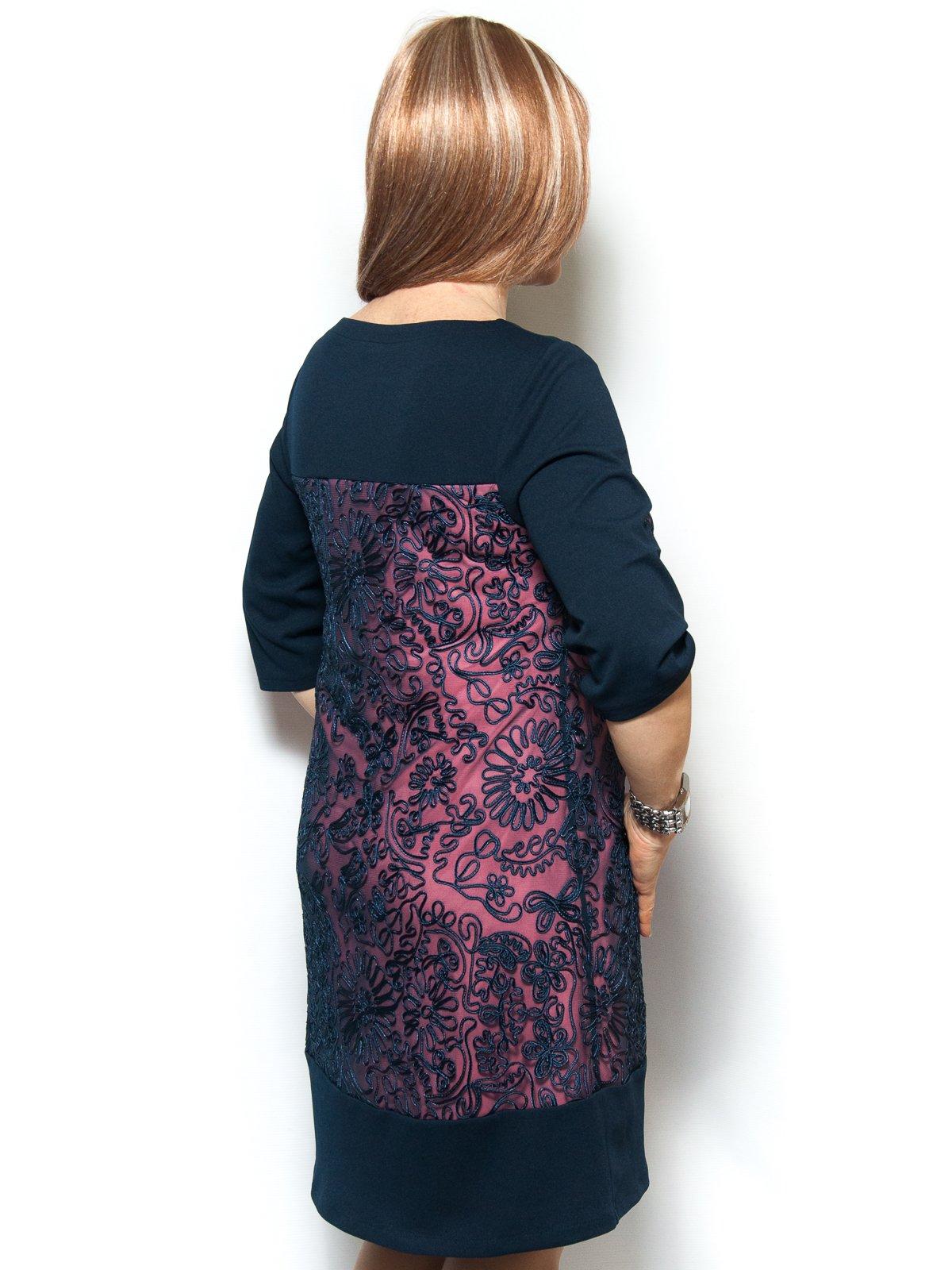 Сукня синьо-рожева | 4071388 | фото 2