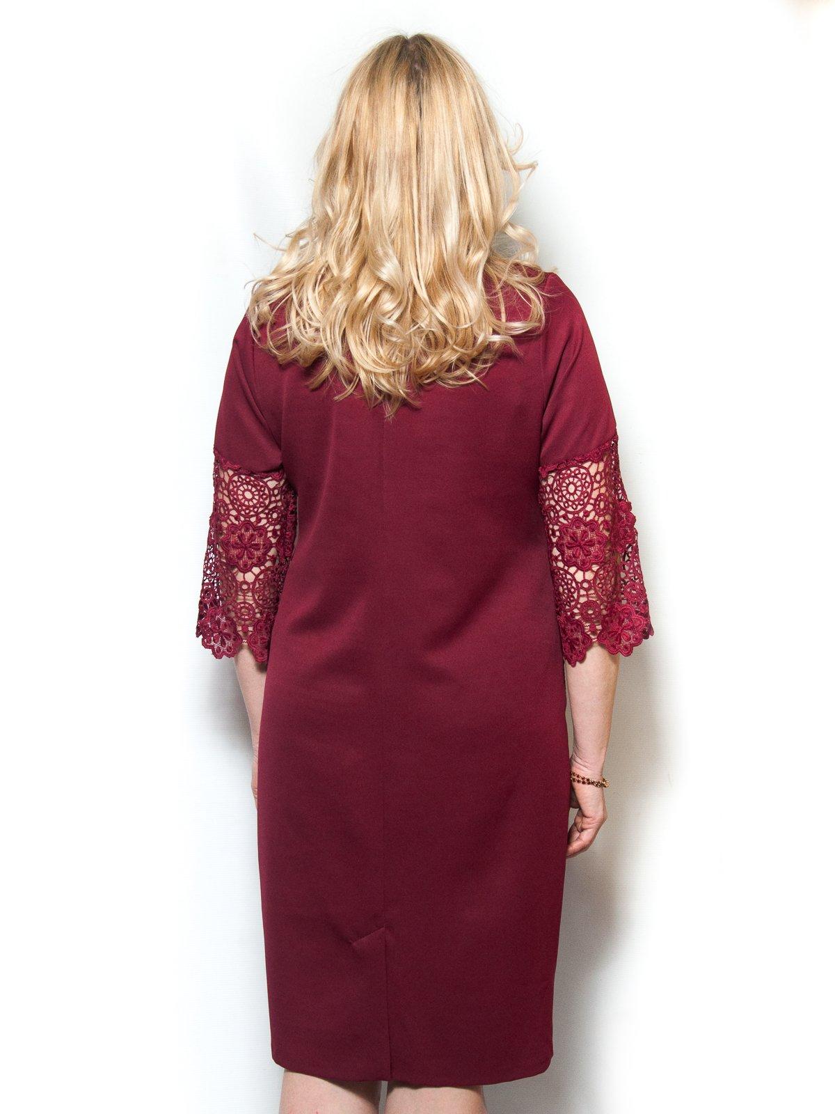 Сукня бордова | 4071397 | фото 2