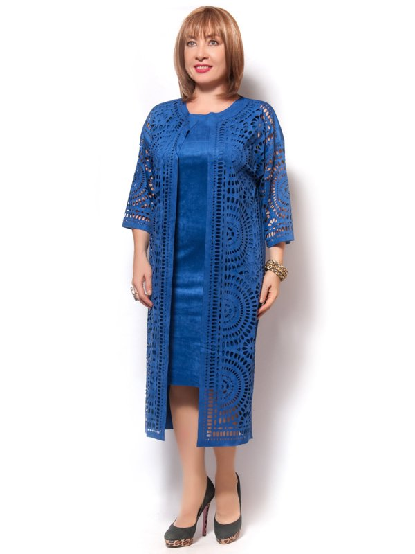 Костюм: платье и кардиган | 4071406