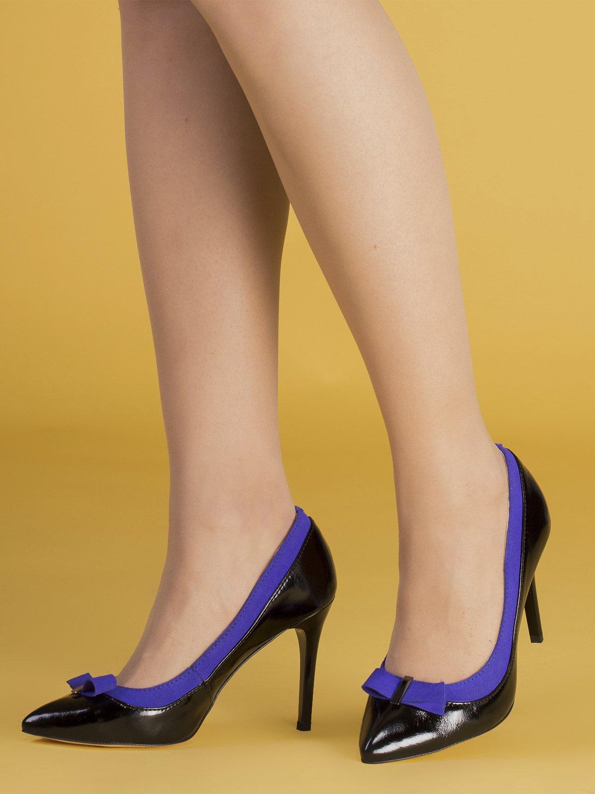 Туфли черно-синие | 3544268 | фото 2