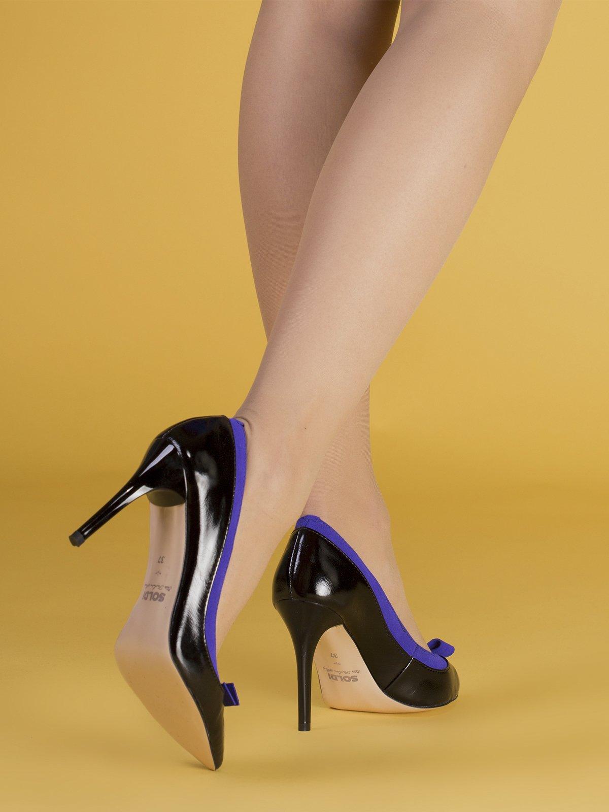 Туфли черно-синие | 3544268 | фото 3