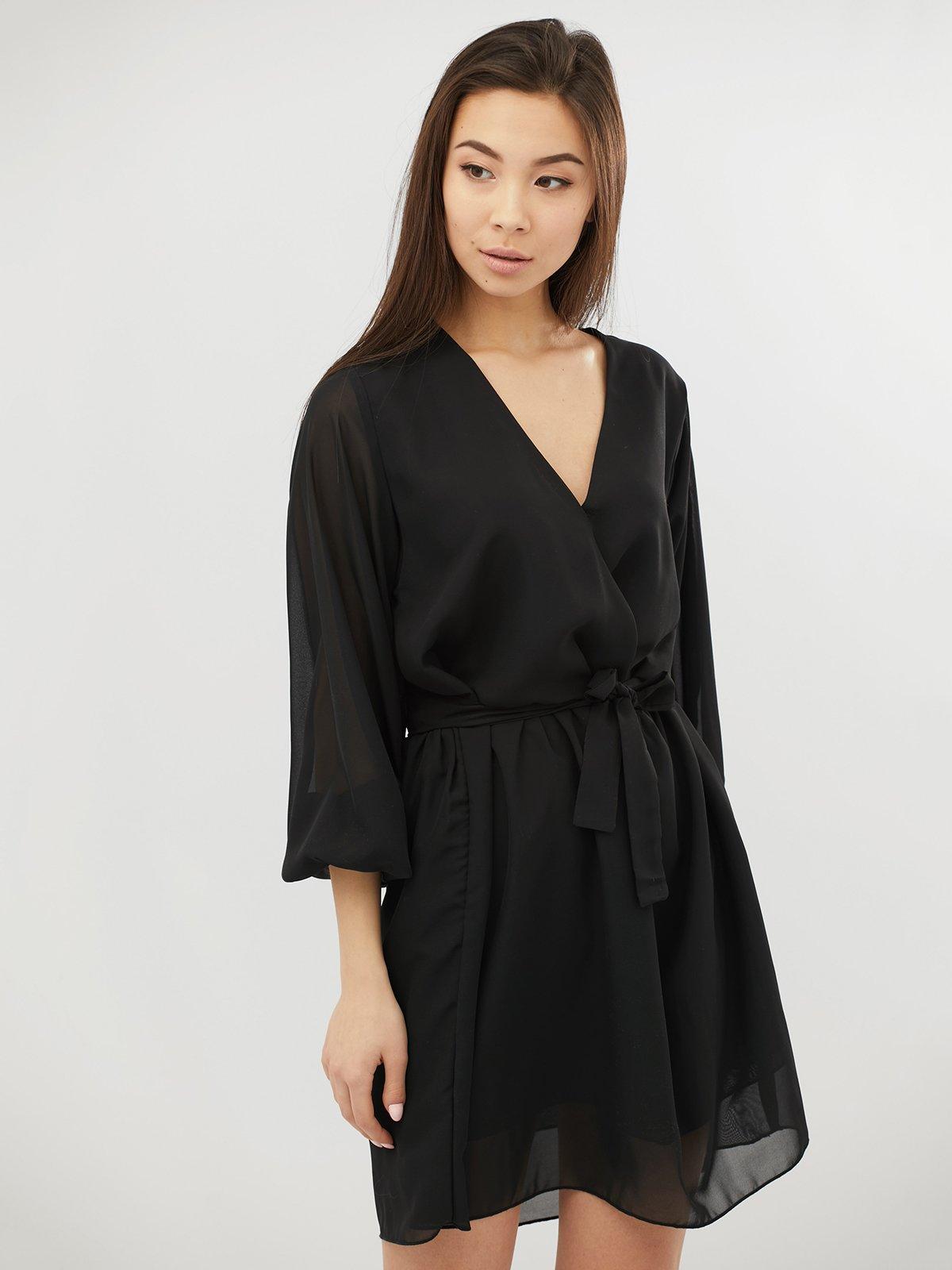 Платье черное | 4071521