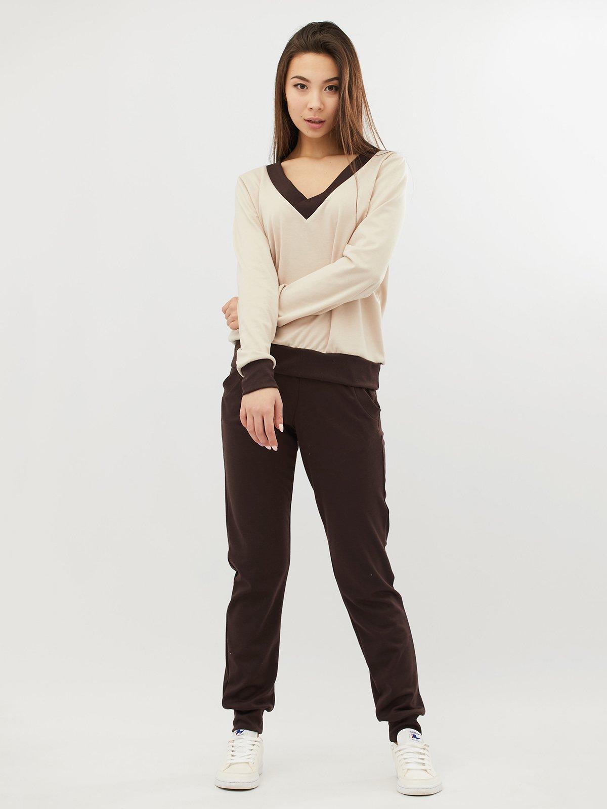 Костюм: брюки и пуловер | 4071525
