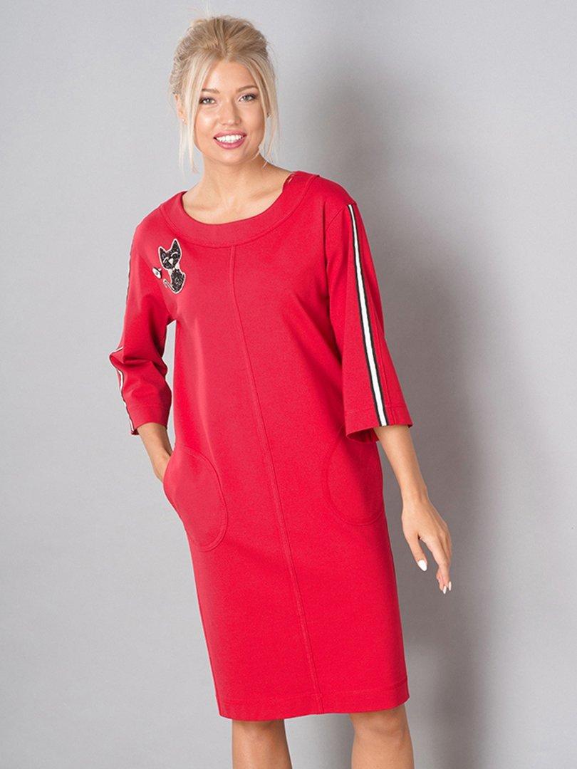 Платье красное | 3766785