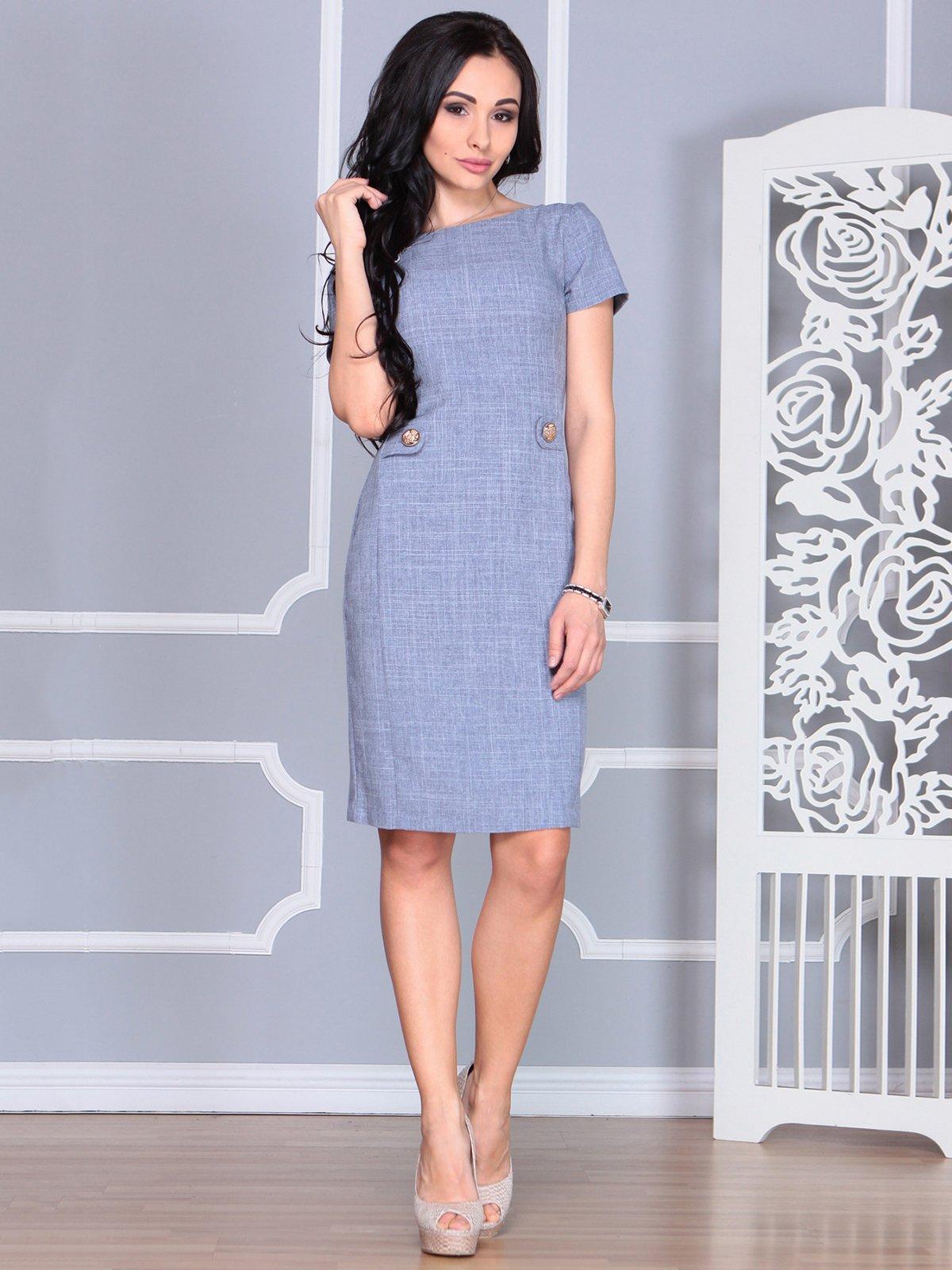 Сукня кольору фіолетового серпанку | 4068453
