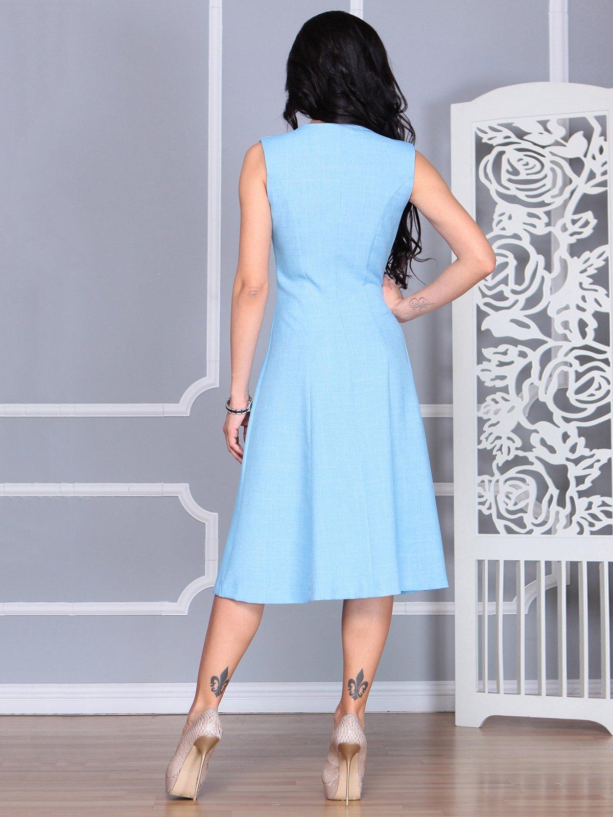 Платье голубое | 4068454 | фото 2