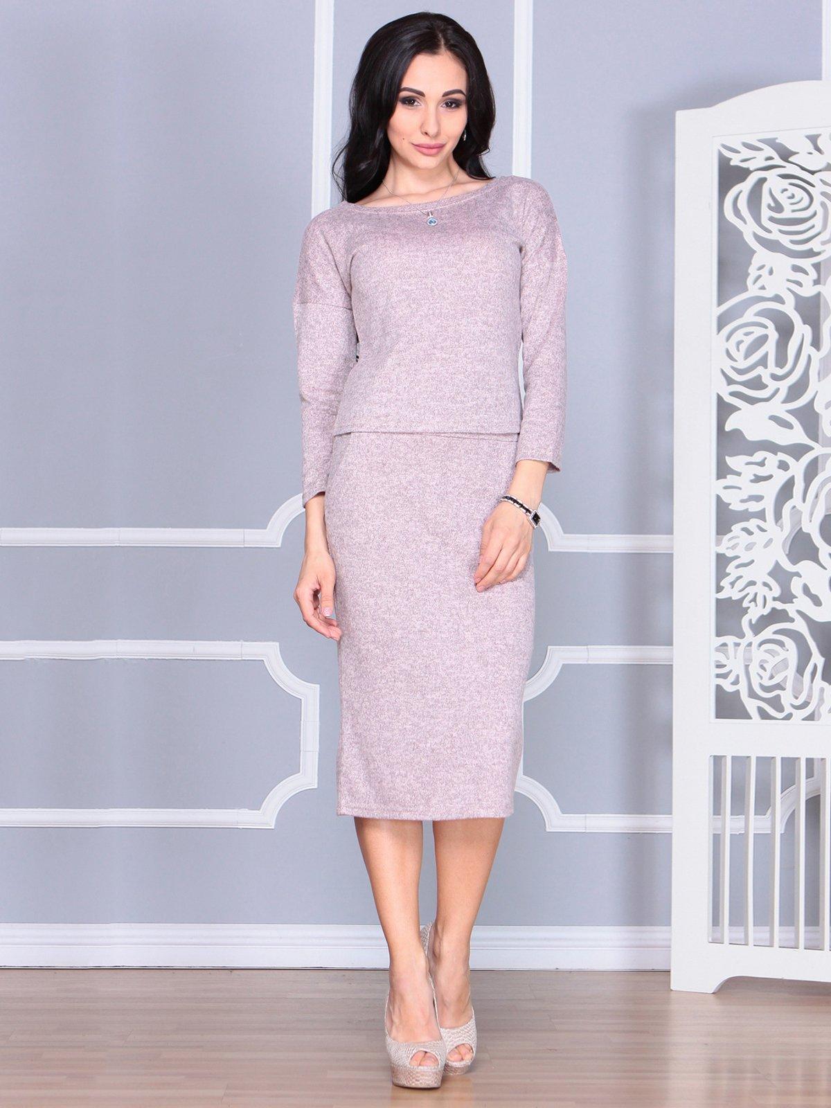 Костюм: блуза и юбка | 4068470 | фото 3